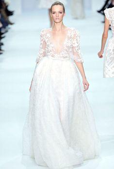 Elie Saab haute wedding dress...beautiful.