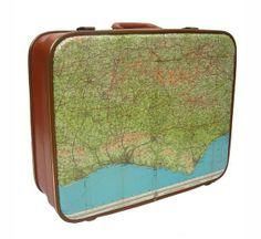 orient express, vintag luggag, brighton, vintage suitcases, maps, travel, blog, vintage luggage, bags