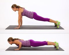 Do 10 sit-ups and 10 push-ups every morning.