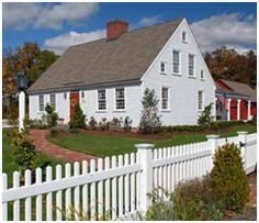 Cape Cod and Early New England Style Home Building Kits from EarlyNewEnglandHomes.com