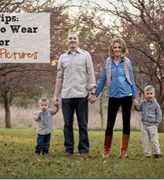 5 TIPS - what to wear for family pictures