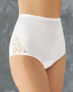 Vanity Fair Women`s Perfectly Yours Lace Nouveau Brief, 3-Pack $16.95