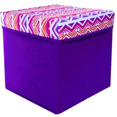 Rock your room! Printed #storage #ottomans #FiveBelow [for just $]