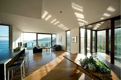 Airy, bright open living room