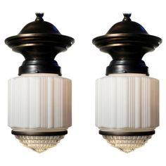 Large Pair of Courthouse Lamps   1stdibs.com