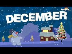 Seasonal Changes for each month. Animated Months Of The Year Song