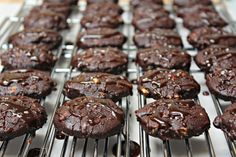 Triple Chocolate Cookies from Fox in the Kitchen