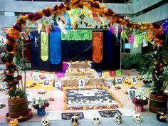 Altar de muertos del Departamento de Antropología, UAM-I