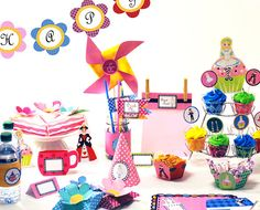 Birthday Party Kit  ALICE in WONDERLAND Diy by ThePartyChick, $14.95