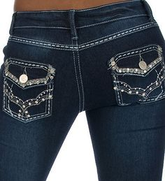 embroidery inspiration for altering jeans