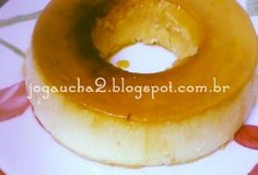 Pudim de Iogurte e leite em pó Dukan