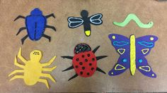Lovin' the Library: Flannel Friday--Brown Bear-ized Bugs!