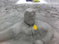 Governor Chris Christie ..... carved by Jeff McCarthy