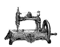 FREE ViNTaGE DiGiTaL STaMPS**: FREE Digital Art Stamp - Vintage Sewing Machine ...