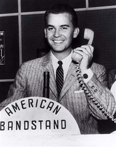 """American Bandstand. RIP Dick Clark...""""Worlds Oldest Teenager"""""""