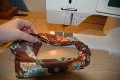 How to make a bandana with elastic