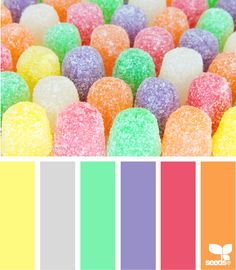 """""""gumdrop good"""" Pretty tones for a website for babies and moms or female category retail items. #webdesign"""