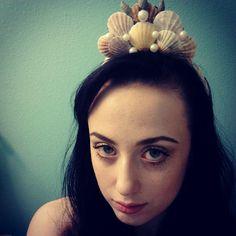 DIY sea princess / mermaid crown