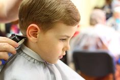 Go with a classic boy haircut if you're not a fan of going to salon too often!