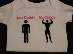 CUTE & FUN Father's Day Gift-- Show him how proud YOU are of his hard work and his MUSCLES!, $19.95