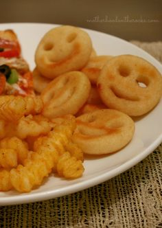 """""""Our recipe is simple. Real ingredients are in; artificial and hard-to-pronounce ingredients are out. We know that you want food that is homemade, but made convenient. This is a universal insight that has changed our entire approach to making good food."""" -McCain    McCain's all natural crinkle cut and smiley face fries! Can't wait to try their other fries, especially the sweet potato fries and their mashed potatoes! #shop"""