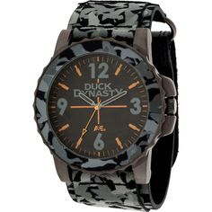 Duck Dynasty Men's Watch, Grey Camo Fast Strap: Watches #duckdynasty