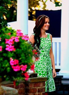 Blair Waldorf love that look. Hairstyle and dress