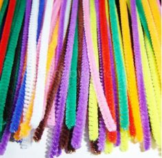 Different lengths and widths available for kids pipe cleaner crafts - Rainbow Creations Assorted Coloured Pipe Cleaners
