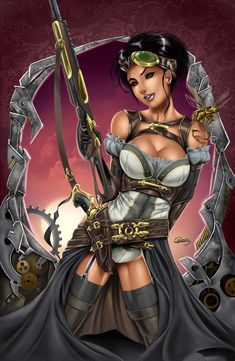 Lady Mechanika by ~RayArtz on deviantART
