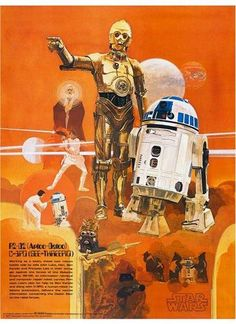 Burger Chef Star Wars poster