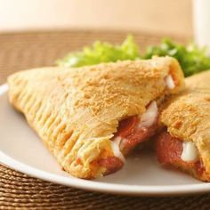 Crescent Pizza Pockets - costs under $10 to make the entire recipe!