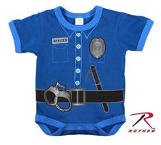 Police Onesie - For Father's Day! :)