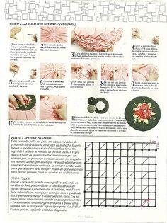 Instrucciones punto capitone osinho