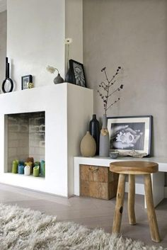 fireplace idea
