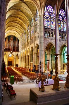 Greater Paris, Saint-Denis Basilica