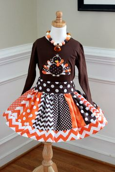 turkey  thanksgiving outfit turkey outfit thanksgiving skirt set turkey skirt set chevron skirt set thanksgiving chevron girls toddler baby via Etsy