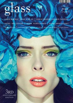 Glass Magazine, Spring 2013 #cover   Coco Rocha by Jason Hetherington for the 3rd Anniversary issue