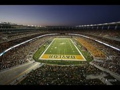 "The atmosphere at #Baylor's McLane Stadium is, as one writer said, ""the way college football ought to be."" See for yourself. #SicEm"