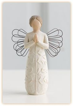 Love this 'a tree, a prayer' angel from willow tree