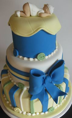 baby shower cakes for a boy 4