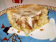 Gluten Free Betty: 12th Day of Christmas Treats: Gluten Free Cinnabun Cake