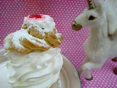 Creampuff the unicorn