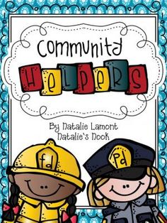 Community Helpers A Primary Social Studies Unit from Natalies Nook on TeachersNotebook.com -  (58 pages)