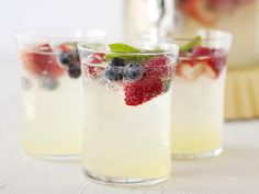 Red and Blue Lemonade Cocktail from bettycrocker.com