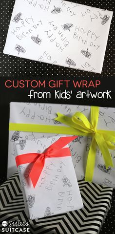 kids artwork gift wr