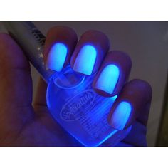 Glow in the dark nail polish- That would be weird to sleep with...