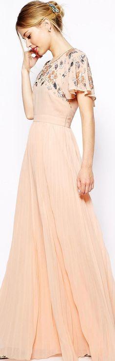 embellished sleeve dress