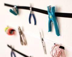 Make a Wall Organizer for Your DIY Essentials
