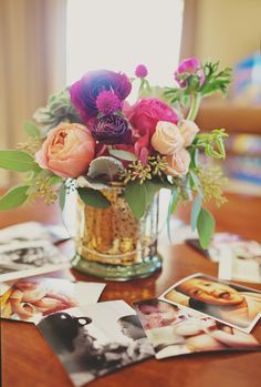 #birthday-party, #centerpiece  Photography: Bow And Arrow Photography - www.bowandarrowphotographystudio.com  Read More: http://www.stylemepretty.com/living/2014/03/27/little-gem-first-birthday/