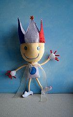 Custom dolls made from your kids' art. Amazing work!